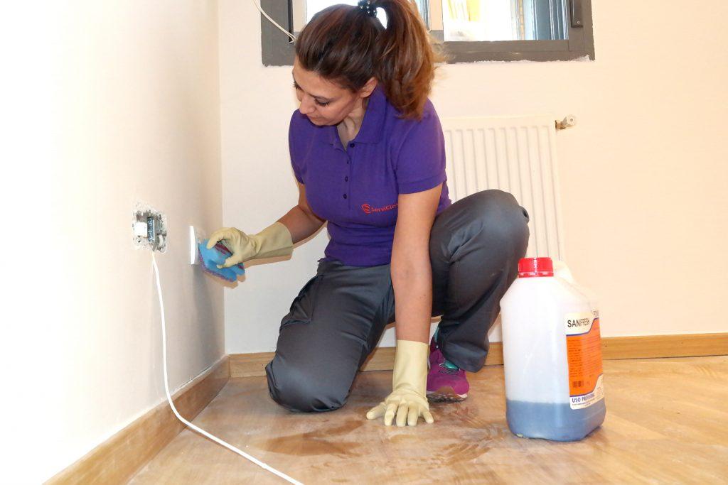 Empresa de servicios de limpieza a domicilio