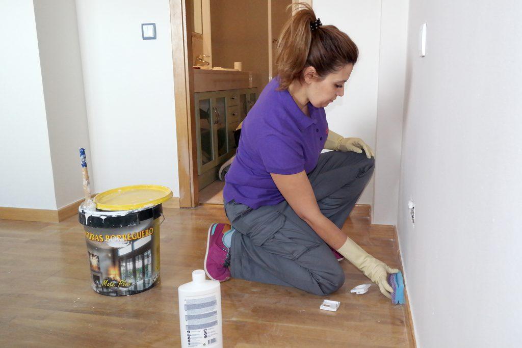 Servicios profesionales de limpieza de obra