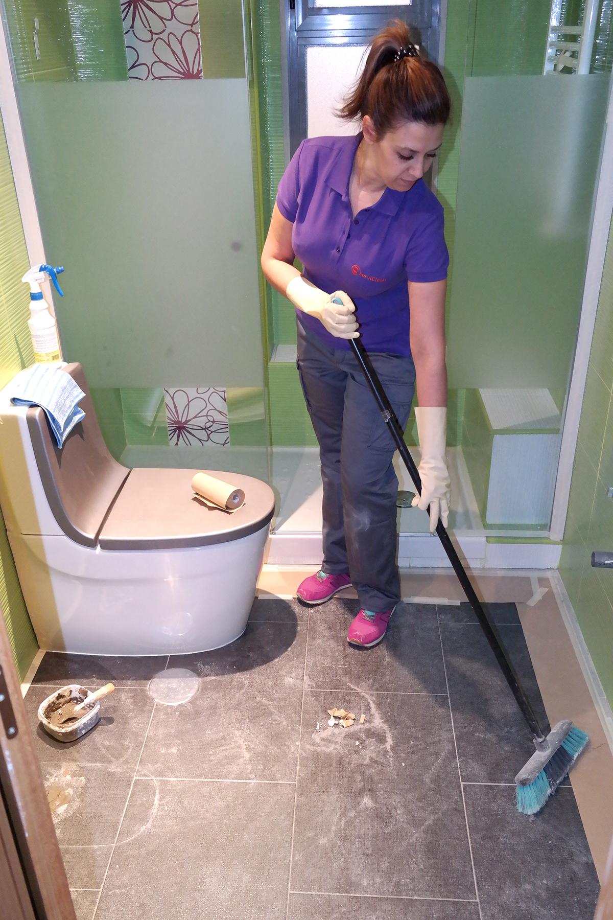Limpiezas profesionales de obras