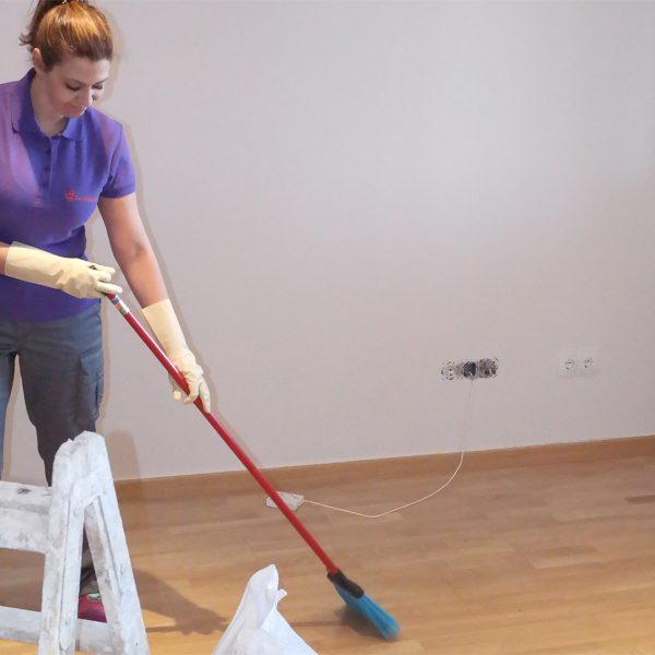 Limpieza de domicilios por cambio de inquilino y mudanza